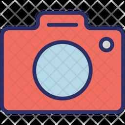 Cam Colored Outline Icon