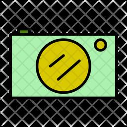 Camera Colored Outline Icon