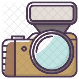 Camera, Device, Flash, Capture, Image, Video, Picture, Photography Icon