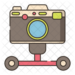 Camera Dolley Icon Of Colored Outline Style Available In Svg Png Eps Ai Icon Fonts