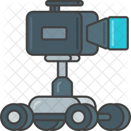 Camera Dolly Icon Of Colored Outline Style Available In Svg Png Eps Ai Icon Fonts