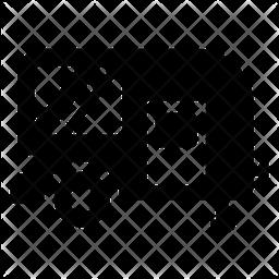 Campervan Glyph Icon