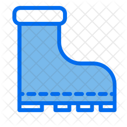 Camping Shoes Icon
