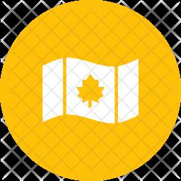 Canada Glyph Icon