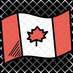 Canada Doodle Icon