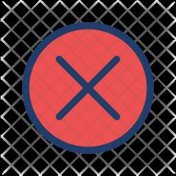 Cancel Logo Icon