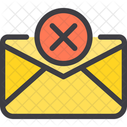 Cancel Email Icon