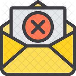 Cancel Mail Icon