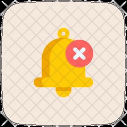 Cancel Notification Icon