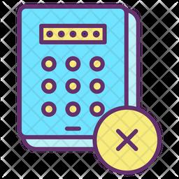 Cancel Passcode Icon