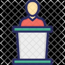 Candidate Speech Icon
