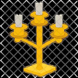 Candle Holder Flat Icon
