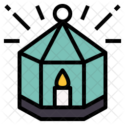 Candle House Icon