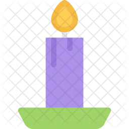 Candle, New, Year, Christmas, Winter, Holidays Icon