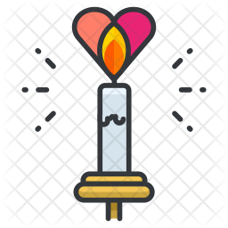 Candlelight dinner Icon