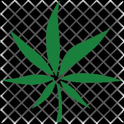 Cannabis leaf Icon
