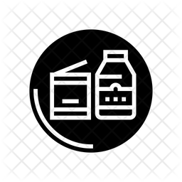 Canned Glyph Icon