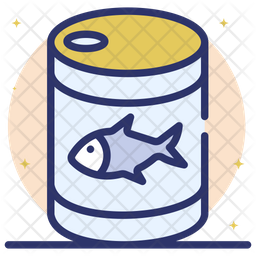 Canned Seafood Icon
