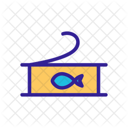 Canned Tuna Fish Icon