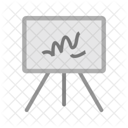 Canvass Flat Icon