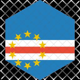 Cape verde Flag Icon