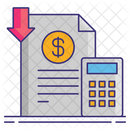 Capitalized Cost Reduction Icon