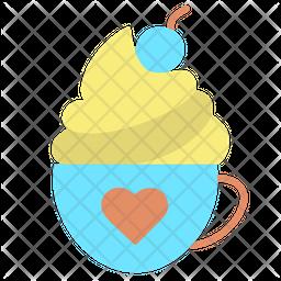 Cappuccino Coffee Icon