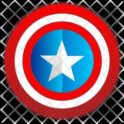 Captain america shield Icon