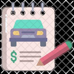Car Bill Icon