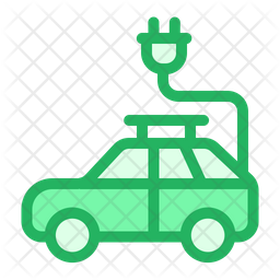 Car Charging Icon
