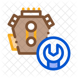 Car Engine Service Icon