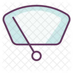 Car, Front, Glass, Windshield, Viper, Auto, Clean Icon png