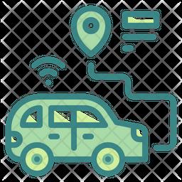 Car Gps Icon