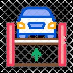 Car Hydraulic Icon
