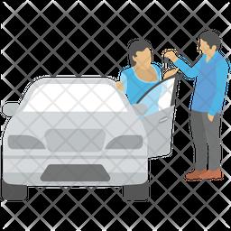 Car Ownership Icon