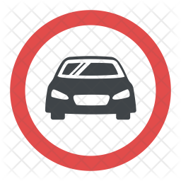 Car Parking Sign Icon