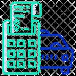 Car Service Bill Icon