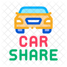 Car Share Icon