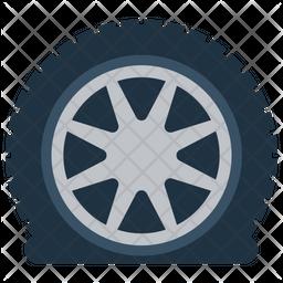 Car Tyre Icon