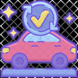 Car Wash Service Icon