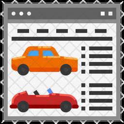 Car Website Icon