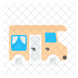 Caravan Van Icon