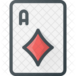 Card Colored Outline Icon