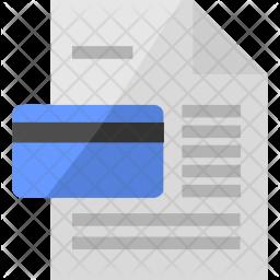 Card paper Icon