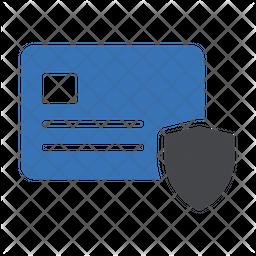 Card Protection Dualtone Icon