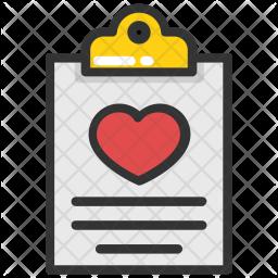 Cardiac Report Icon