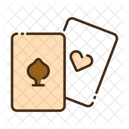 Cards Colored Outline Icon