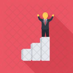 Career, Ladder, Seo, Business, Startup, Marketing, Optimization Icon