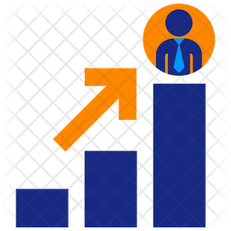 Career Promotion Flat Icon