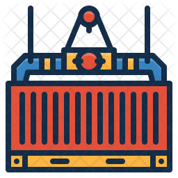 Cargo Colored Outline Icon